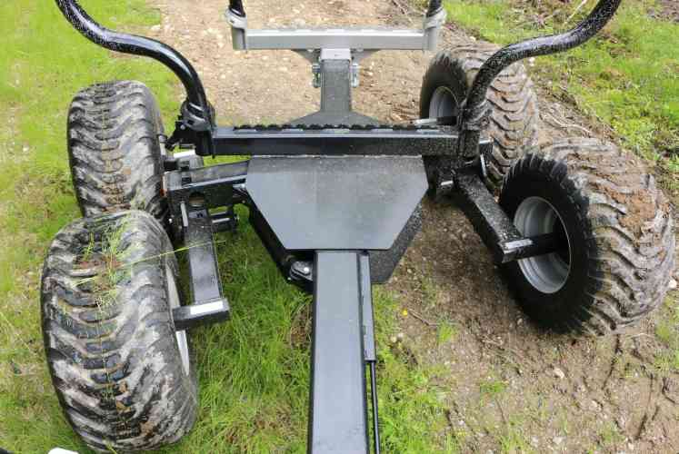 Standard with bogie steering
