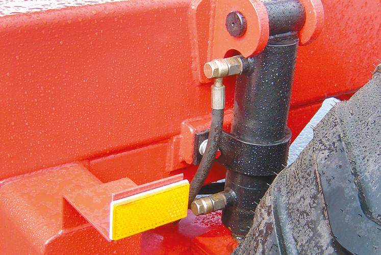 Hydraulisk motor krok upp