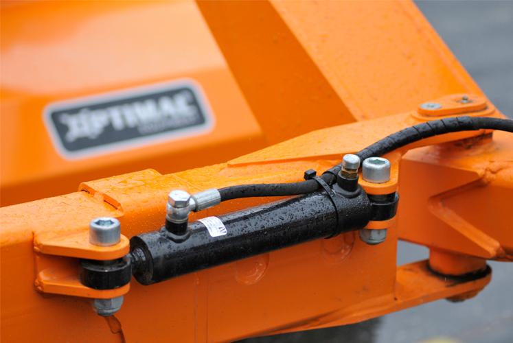 Automatiskt hydraulisk påkörningsskydd