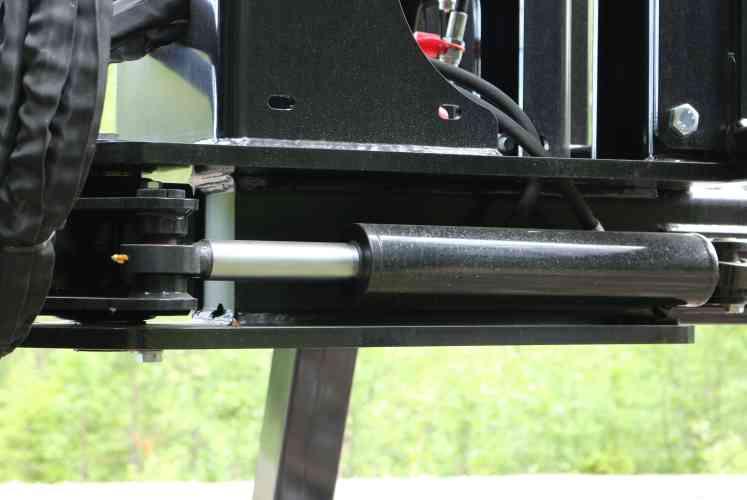 Frame steering