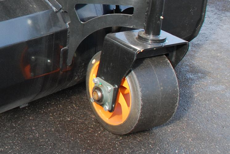Stort stödhjul