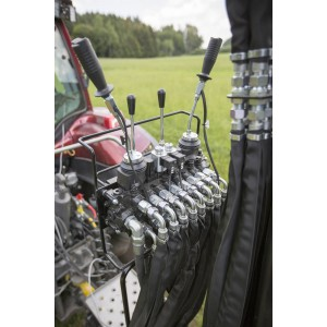 Kontrollventil 2XY + 2 spakar + 2EL on/off 80 lit (V8400-V9000)