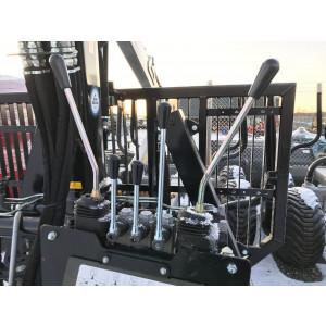 Kontrollventil mekanisk 2XY + 4 spakar (V6300-V7300)