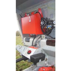 Eget hydraulsystem, ger 80 l/min vid 1000 v/min