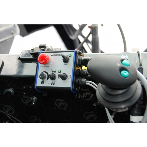 Kontrollsystem ERGO-PRO 2WD 6EHC+2EL on/off 150lit Kräver pumpset+oljetank, HP=270 Bar