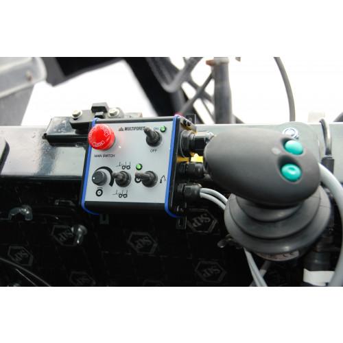 Kontrollsystem ERGO-PRO 2WD 6EHC+2EL on/off+Vinsch Kräver pumpset+oljetank, HP=270 Bar