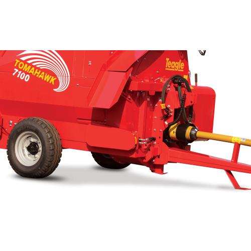 Hjulsystem T7100/T7150 (fabriksbeställning)