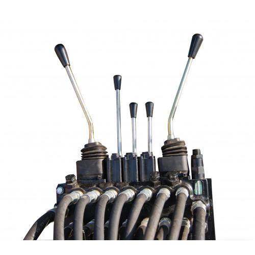 Kontrollventil mekanisk, 2XY + 3 spakar (V5300/P5100-P6200)