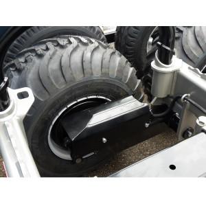 Boggie 4 wheel hyd. brakes MF1050BS
