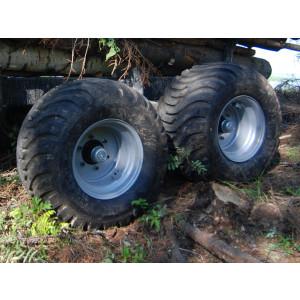 "Wheels 520/50-7"" ET-50, MF1050 4 pcs. factorymounted"