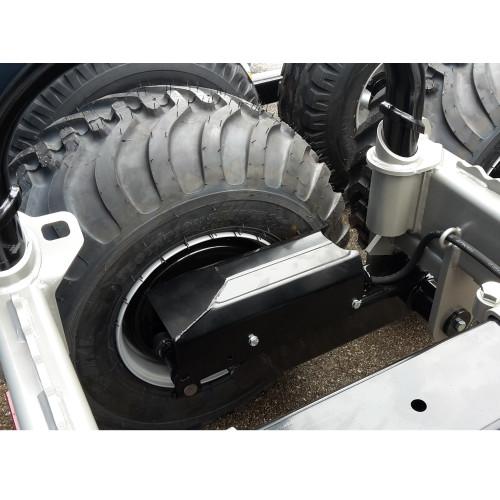Bogie hyd.brakes 4 wheels MF1050