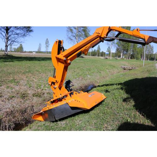 Trejon Optimal Hydraulic head For crane mounting