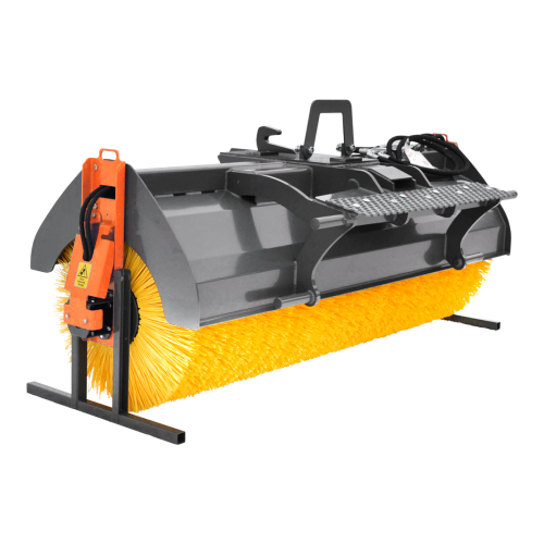 Trejon Optimal PH270R Excavator broom for railroad